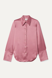 Madine satin shirt