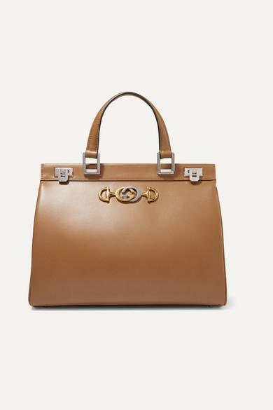 9aa4a9c7c Gucci | Zumi medium embellished leather tote | NET-A-PORTER.COM