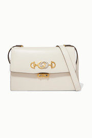 Gucci Zumi small embellished leather shoulder bag