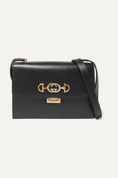 bf996d711 Gucci   Zumi small embellished leather shoulder bag   NET-A-PORTER.COM