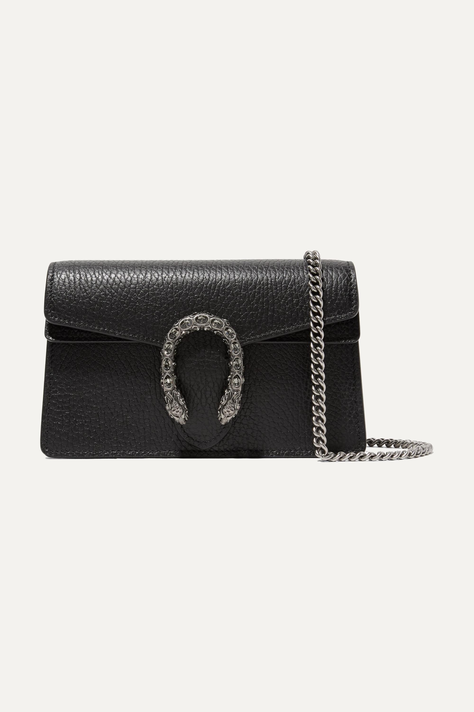 Gucci Dionysus super mini textured-leather shoulder bag