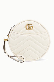 GG Marmont Circle large quilted leather clutch