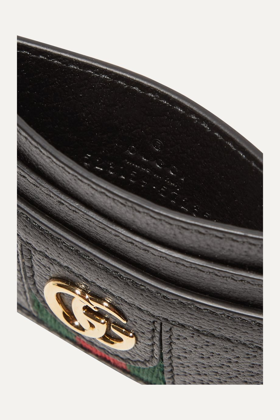 Gucci Ophidia textured-leather cardholder