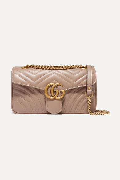d4bb4ac17 Gucci | GG Marmont small quilted leather shoulder bag | NET-A-PORTER.COM