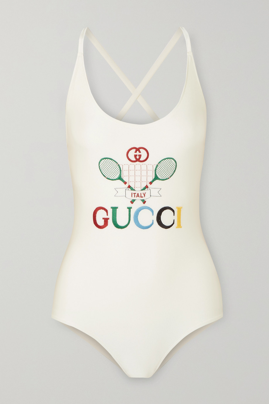 Gucci Embroidered stretch bodysuit