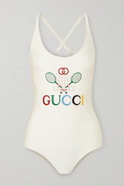 Gucci Embroidered swimsuit