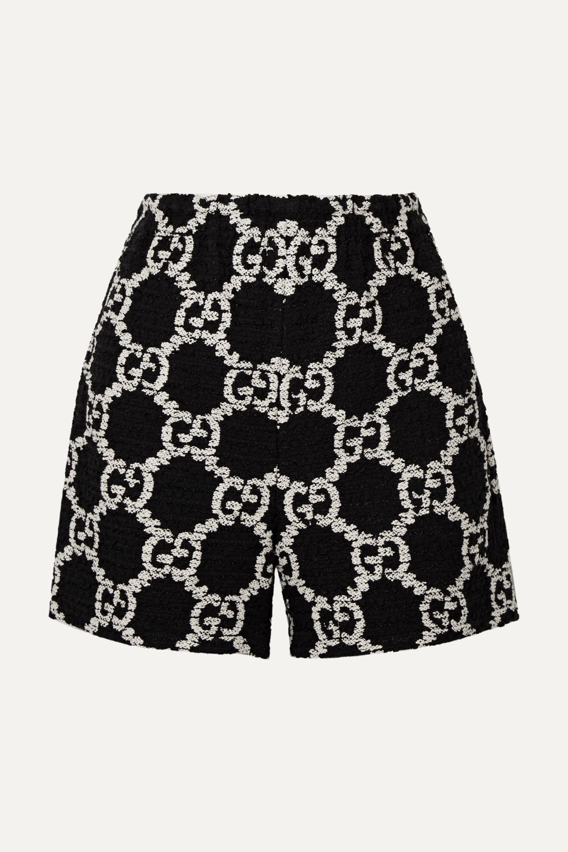 Gucci 棉质混纺圈圈花呢短裤