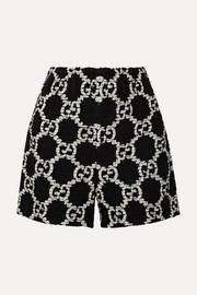 Gucci Cotton-blend bouclé-tweed shorts