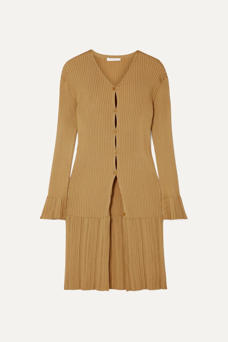 Chloé Ribbed-knit cardigan