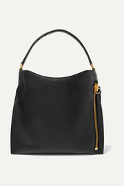 TOM FORD Alix medium textured-leather tote