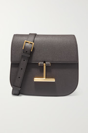 TOM FORD Tara mini textured-leather shoulder bag