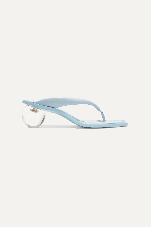 Cult Gaia Jasmin leather sandals