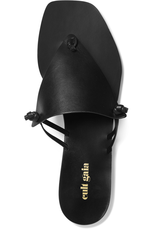 Cult Gaia Tina leather sandals