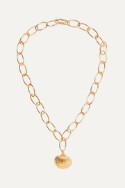 Fortaleza gold-plated necklace