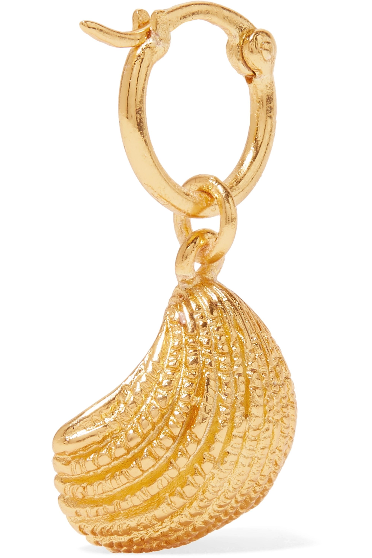Aurélie Bidermann Panama gold-plated earrings