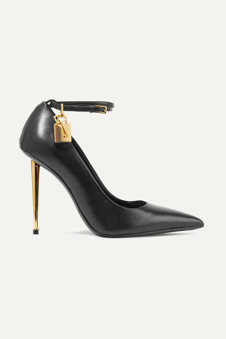 Black Leather pumps | TOM FORD HQQD0P