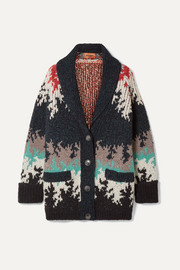 Missoni Intarsia knitted cardigan