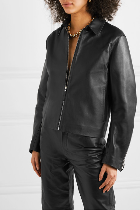 Lucca leather jacket