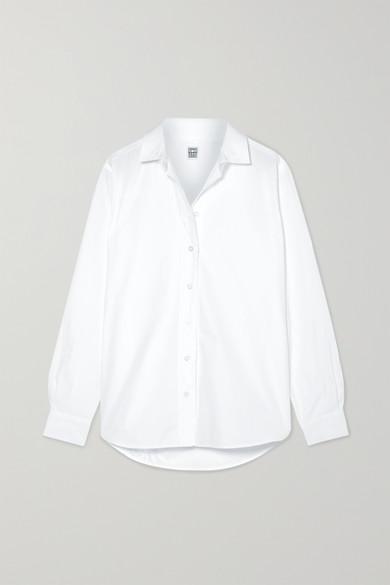 Capri Cotton Poplin Shirt by Totême