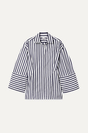 Totême Bibione striped cotton-poplin shirt