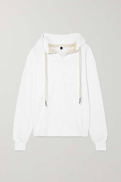 + Net Sustain Organic Cotton Jersey Hoodie by Bassike