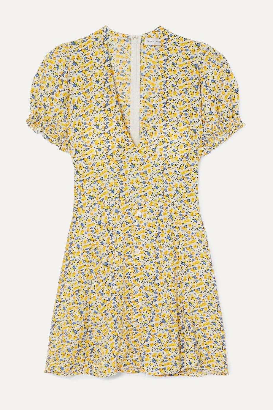 Faithfull The Brand Rafhaela floral-print crepe mini dress