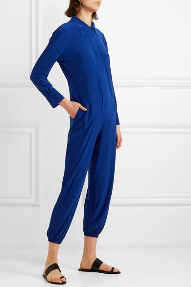 Norma Kamali Suits Stretch-jersey jumpsuit