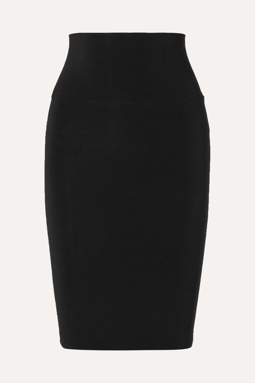 Norma Kamali Stretch-jersey skirt