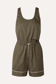 Broken cotton playsuit