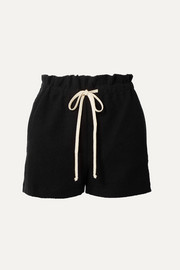 Sunnyside cotton-blend terry shorts