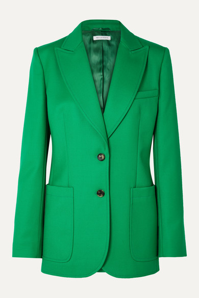 Bella Freud Blazers Saint James wool-twill blazer