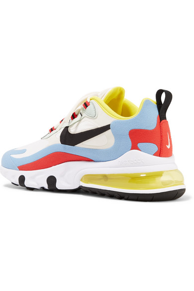 Nike | Air Max 270 React felt and ripstop sneakers | NET A