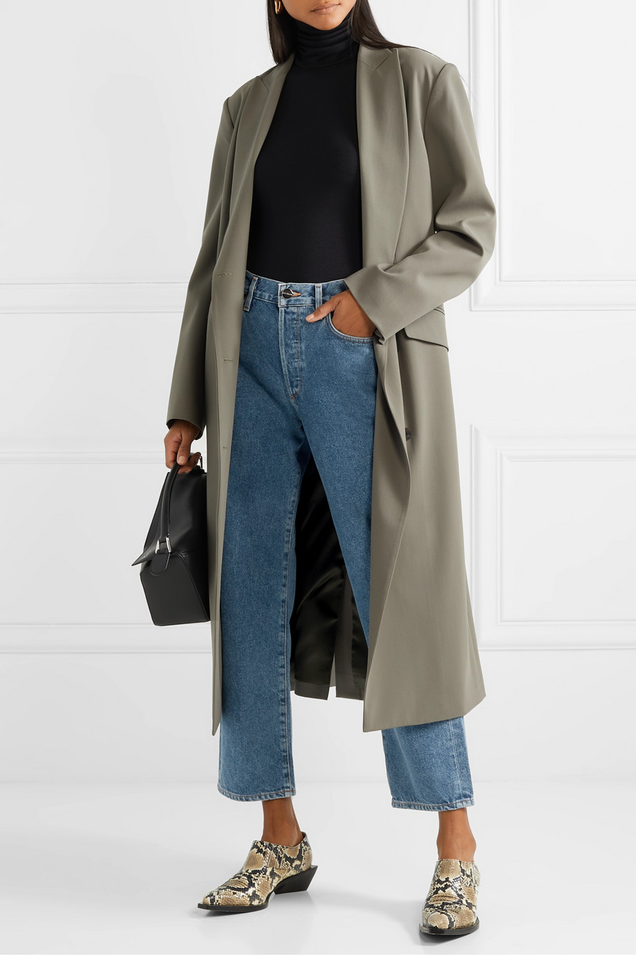GOLDSIGN The Relaxed Straight mid-rise straight-leg jeans