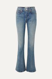 RE/DONE High Break flared jeans