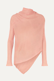 Marques' Almeida Asymmetric ribbed-knit top