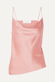 Marques' Almeida Draped silk-satin camisole