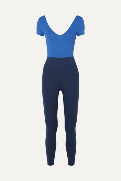 Oriane Two Tone Stretch Bodysuit by Ernest Leoty