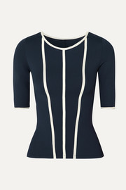 Constance paneled stretch top