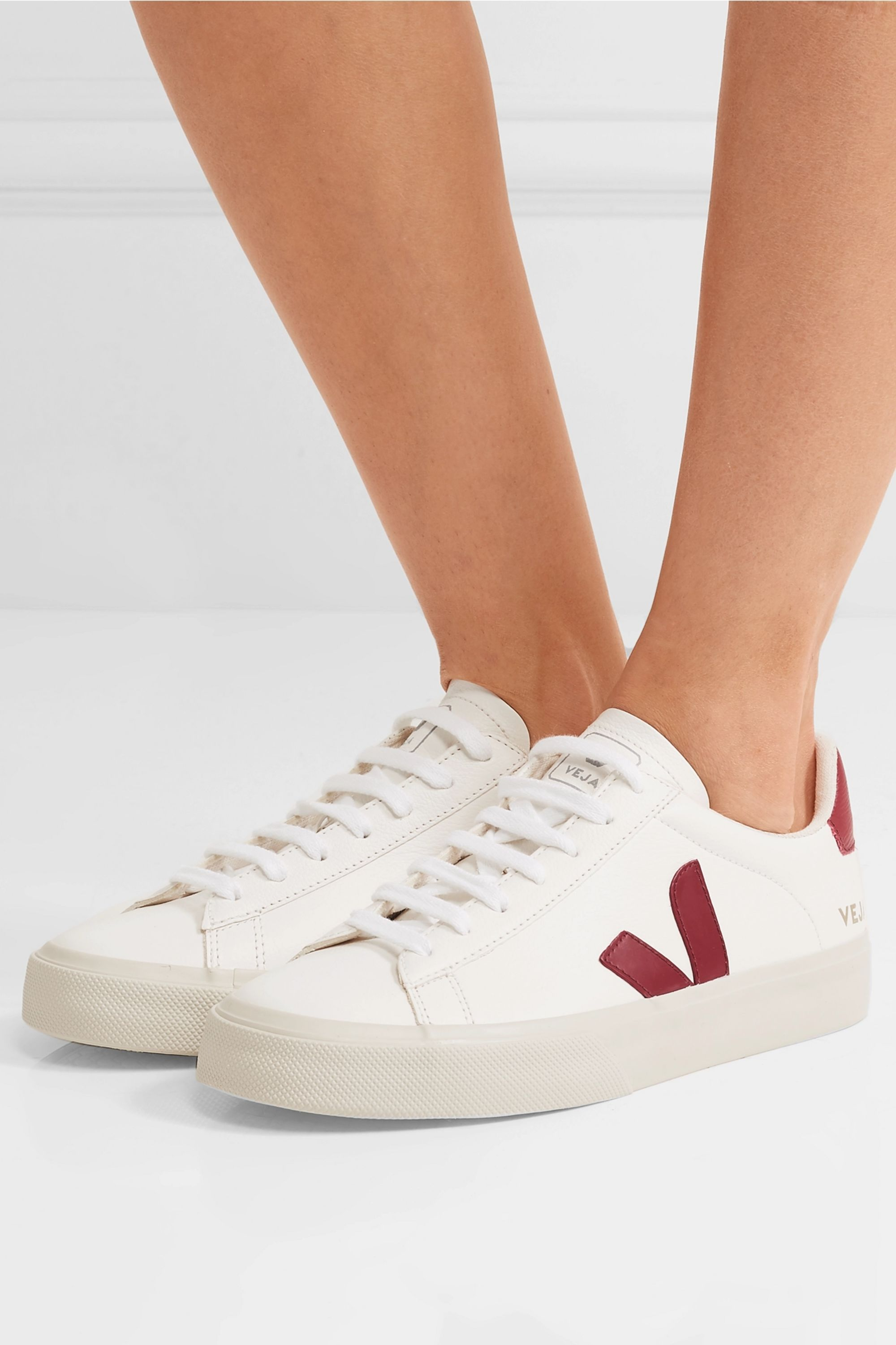 Veja + NET SUSTAIN Campo leather sneakers