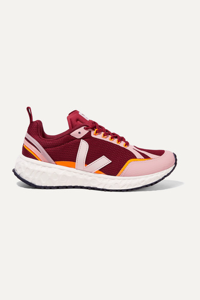 +-net-sustain-condor-rubber-trimmed-mesh-sneakers by veja