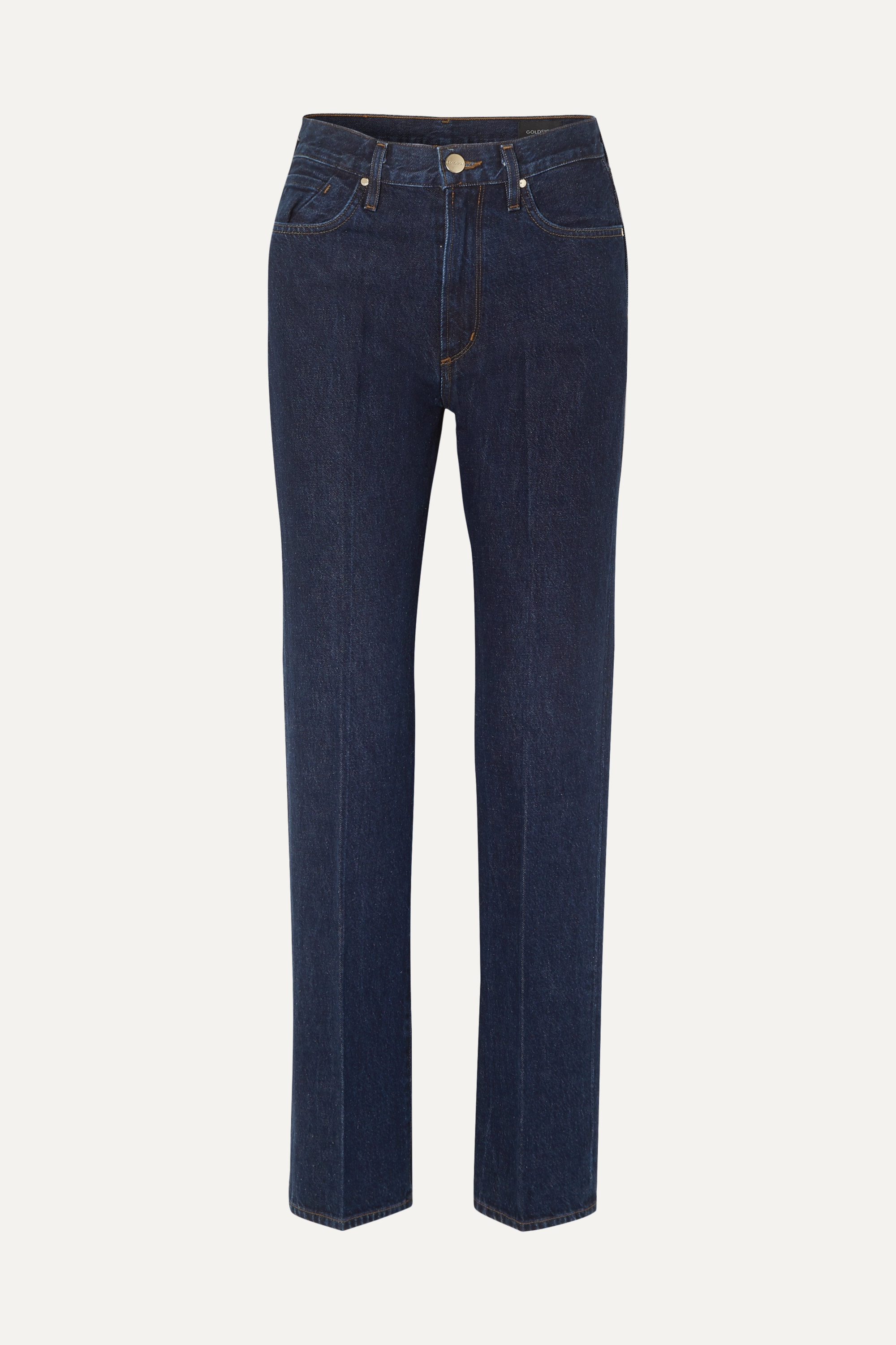 GOLDSIGN Nineties Classic high-rise straight-leg jeans