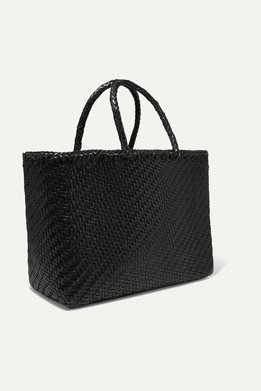 Dragon Diffusion Basket big woven leather tote