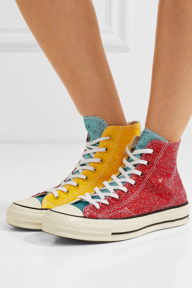 Converse   + JW Anderson Chuck Taylor All Star 70 glittered