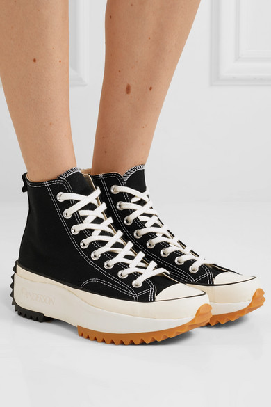 Converse | + JW Anderson Run Star Hike canvas high-top ...