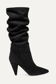 90 suede knee boots
