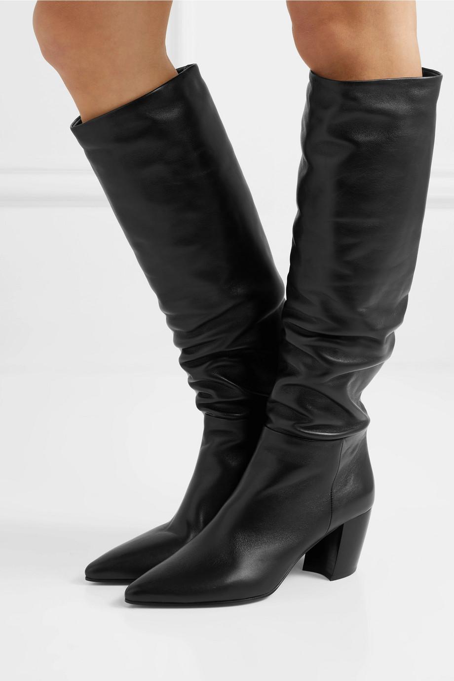 Prada Leather knee boots