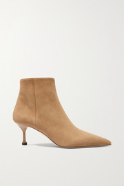 65 suede ankle boots