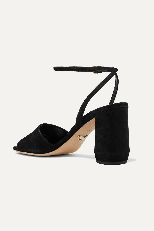 Prada 85 suede sandals