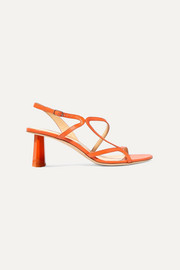 BY FAR Brigette leather slingback sandals