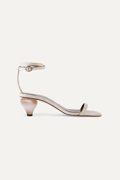 Mari linen sandals
